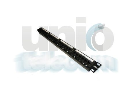UTP CAT 5 patch panel, 24 port